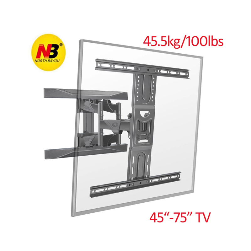 New Version NB P6 40-75 inches LCD TV Double Arm Wall Mount