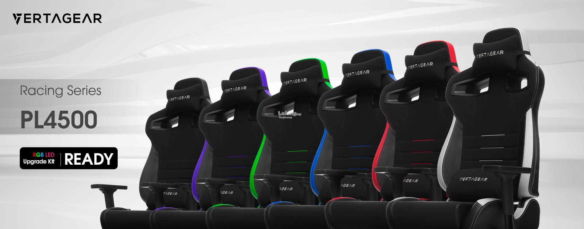 # VERTAGEAR Racing Series P-Line PL4500 Gaming Chair # 5 Colors Avlble