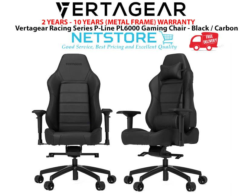 Vertagear Racing Series P-Line PL6000 Gaming Chair Black / Carbon