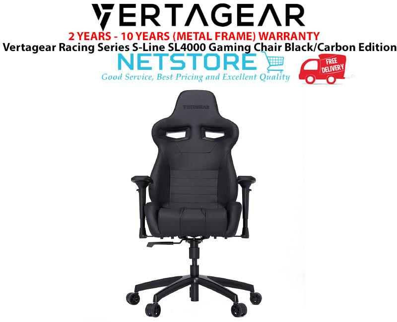 Peachy Vertagear Racing Series S Line Sl4000 Gaming Chair Black Carbon Andrewgaddart Wooden Chair Designs For Living Room Andrewgaddartcom