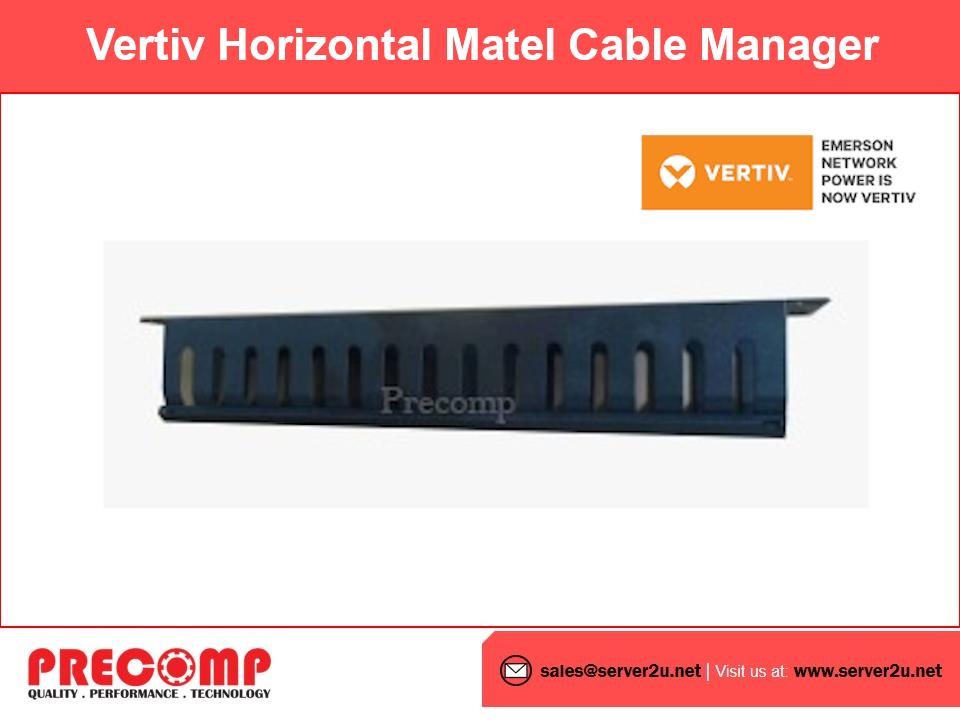 Vertiv Horizontal Matel Cable Manager (SMCABLEDUCT1U)