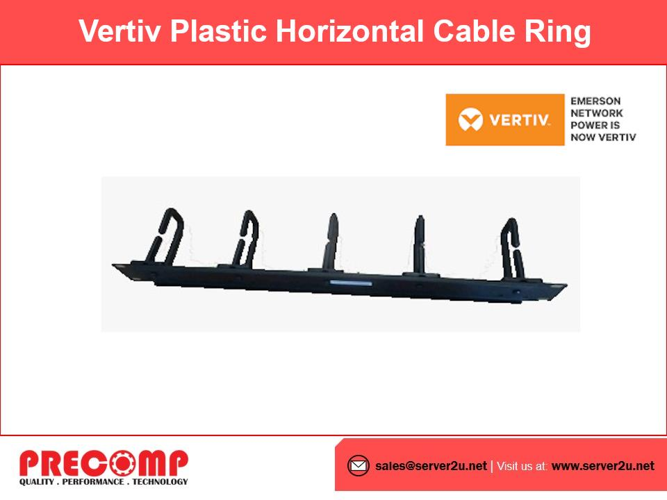 Vertiv Plastic Horizontal Cable Ring (SPCABLERING1U)