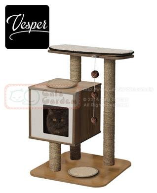 Vesper Cat Tree V Base Walnut End 2 2 2019 3 15 Pm