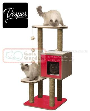 Vesper Cat Tree V High Base Red End 2 2 2019 3 15 Pm