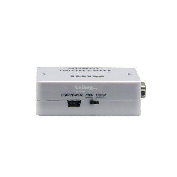 VGA With Audio To HDMI 1080P Converter VGA2HDMI (TV15)