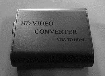 VGA + Audio to HDMI Converter