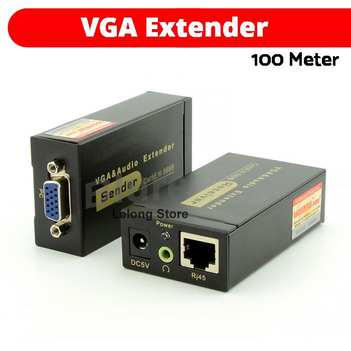 VGA Extender 100M Cat5e 6 568B Netwo End 4 2 2021 1200 AM