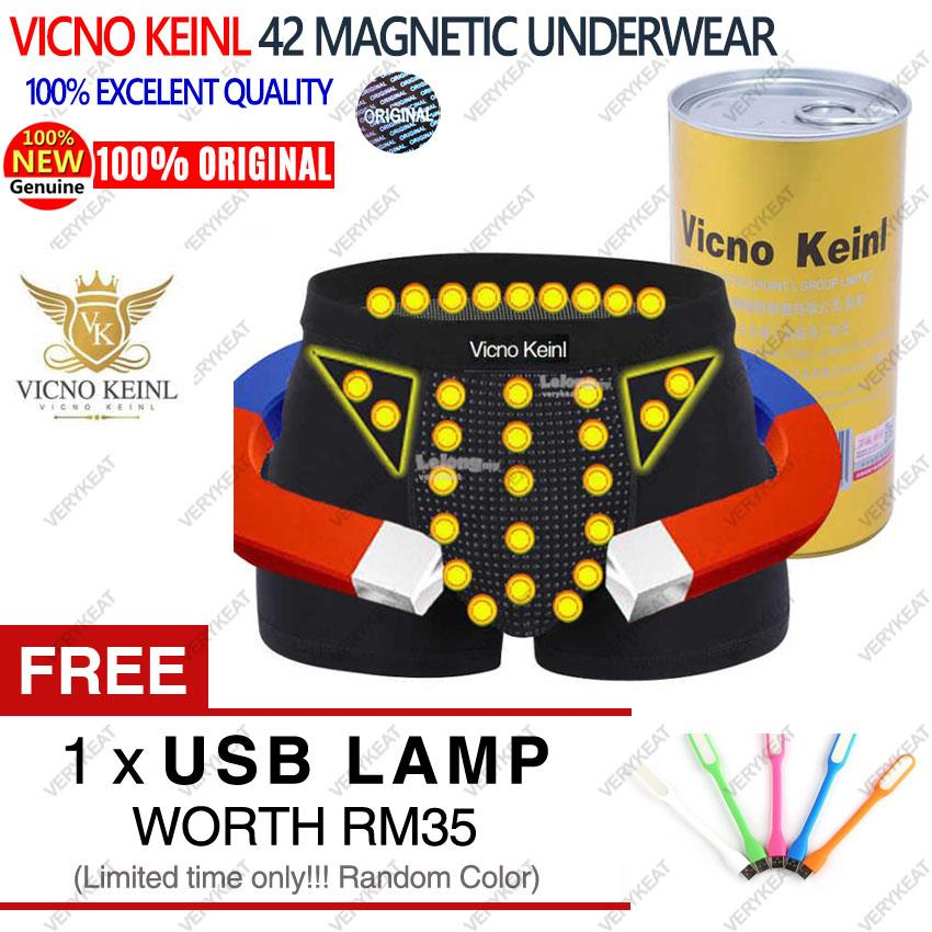 Vicno Keinl VK 16th Gen 42 Magnets Health Therapy Men Underwear Boxer