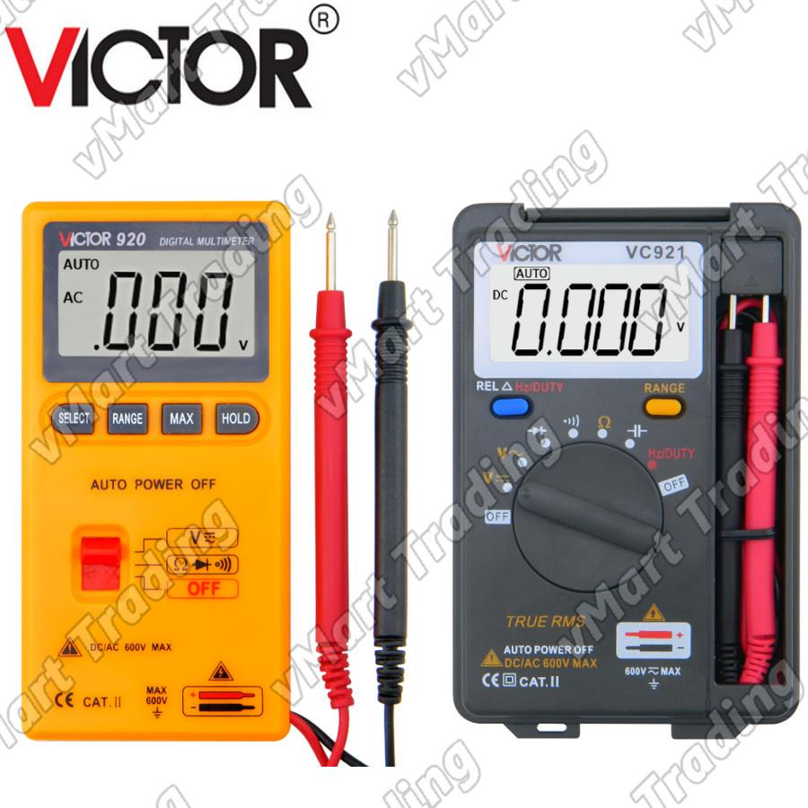 VICTOR Pocket-Size Digital Multimeter