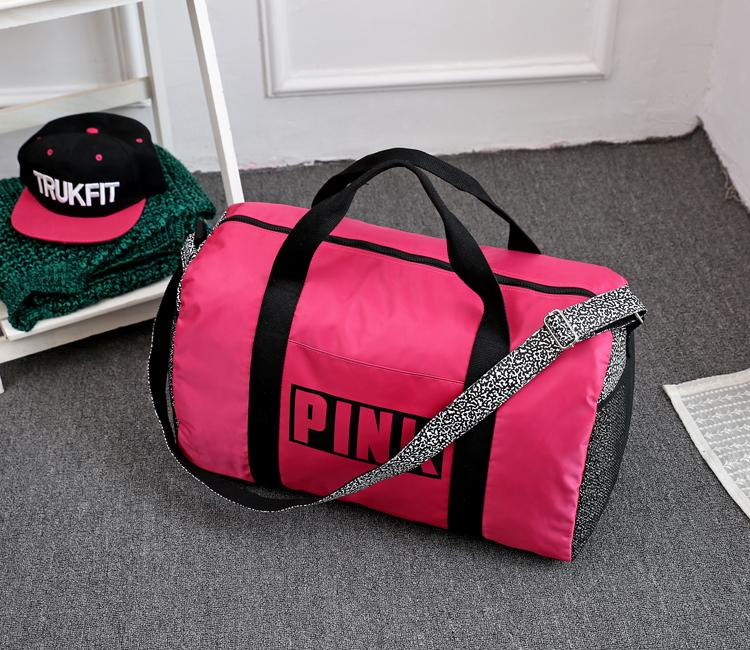 Victoria S Secret Pink Gym Travel Duffle Bag Large