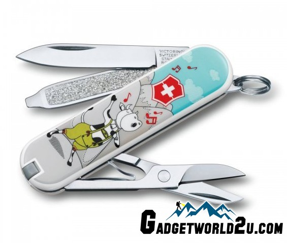 Victorinox Classic SD Yodelya-hee-moo Multitool Pocket Knife 0.6223.L1