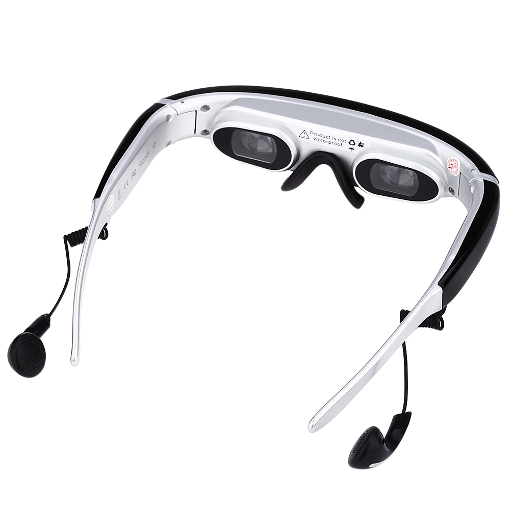 (VIDEO GLASSES) V640 5.8G FPV 480P Video Glasses [BLACK]