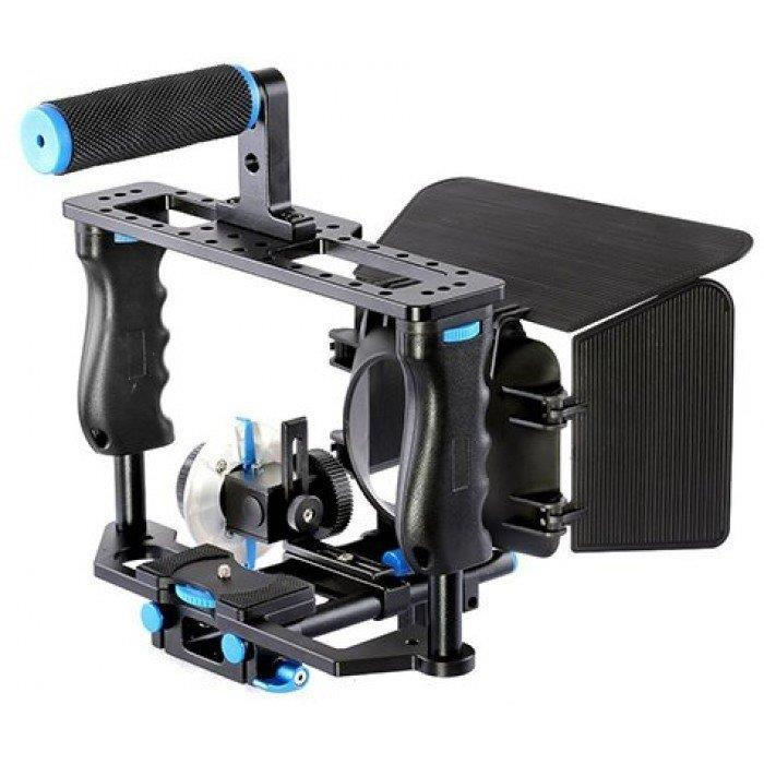 Video Rig / Cage Kit Set For Digital DSLR Camera Video Rig Support