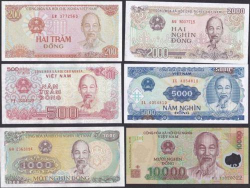 Vietnam Dong Banknotes
