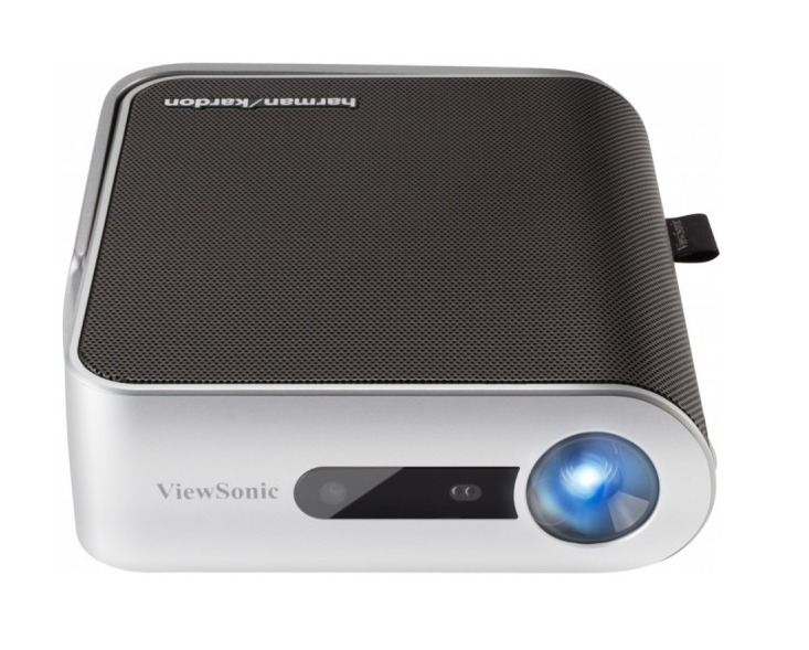 VIEWSONIC M1 PROJECTOR PORTABLE LED WVGA (854X480) 250 LUMENS BUILT-IN