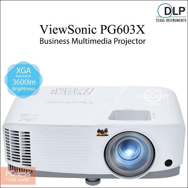 ViewSonic PG603X DLP XGA 3600 lumens Business Education Projector