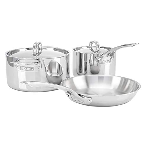 ..// Viking 3-Ply Stainless Steel Cookware Set, 5 Piece