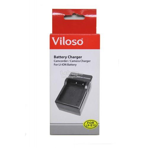 Viloso LP-E12 Battery Charger for Canon EOS M10 EOS M2 EOS M 100D