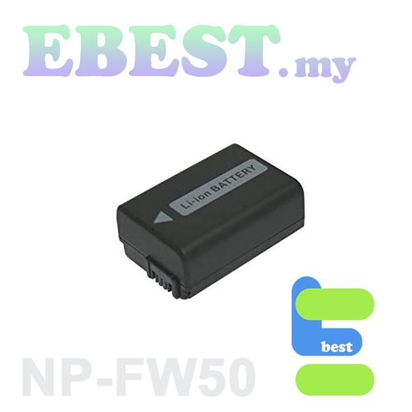 Viloso NEX/ A-Series NP-Fw50 Li-ion Battery Compatible with Sony