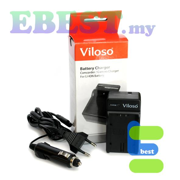 Viloso NP-F550 Li-Ion Battery Desktop Charger for Sony NP-F570