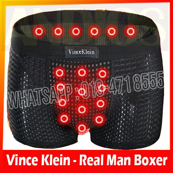 Vince Klein Boxer Underwear for Real Men.Healthy Magnetic Brief