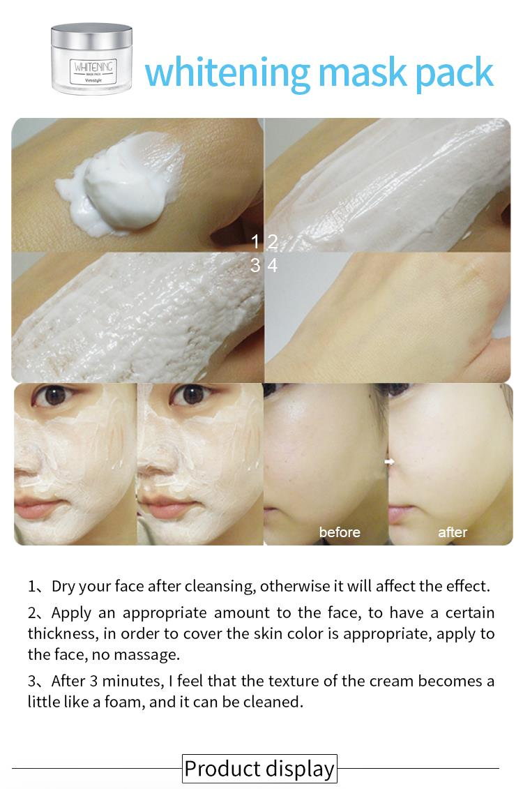 Vinistyle Whitening Mask Pack
