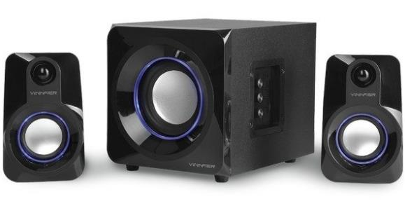 VINNFIER 2.1 ECCO 5 BTR MULTIMEDIA SPEAKER (BLACK)