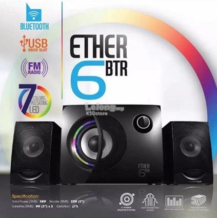 Vinnfier Ether 6 BTR Multimedia Speaker