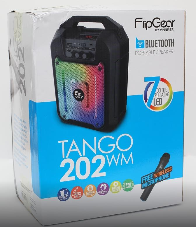Vinnfier FlipGear Tango 202WM Portable Speaker Wireless Mic