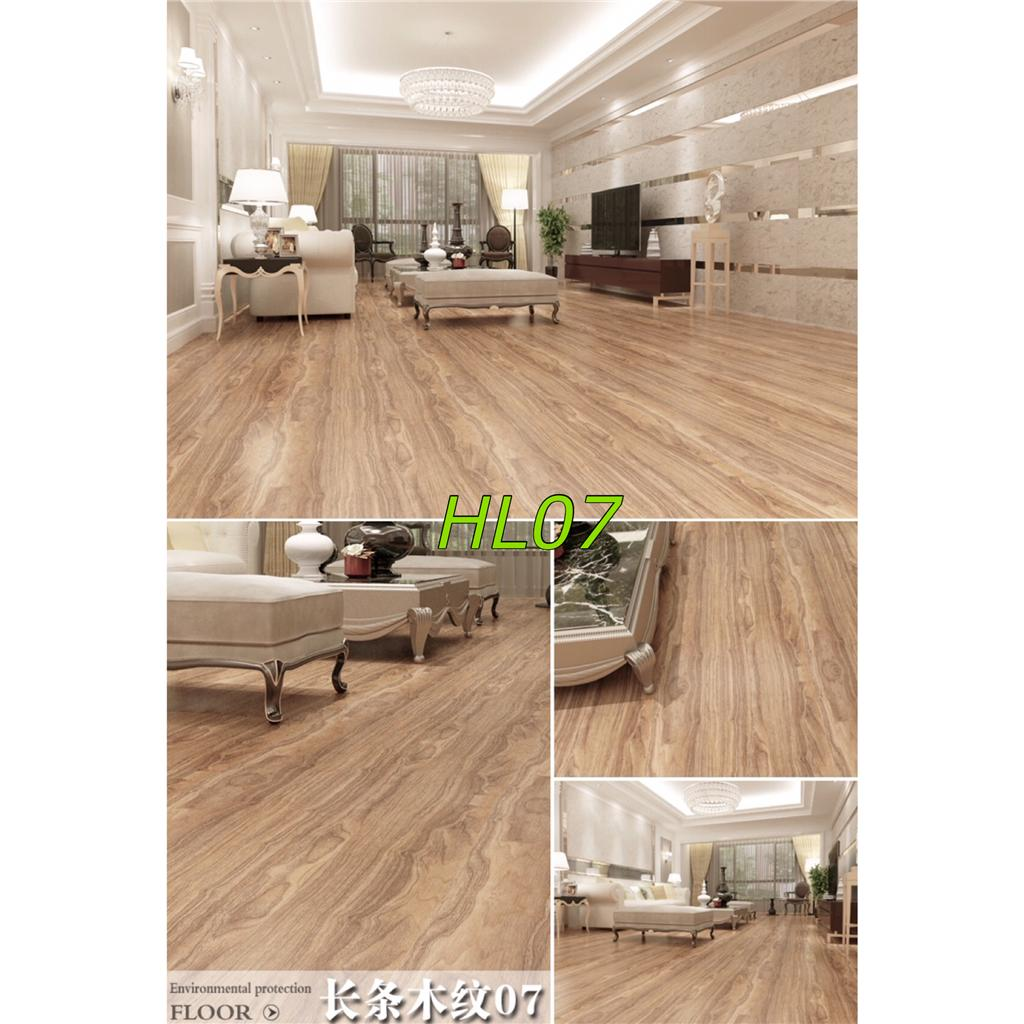 Vinyl Wood Flooring Laminate Sheets Glueless Self Adhesive Hl05 08