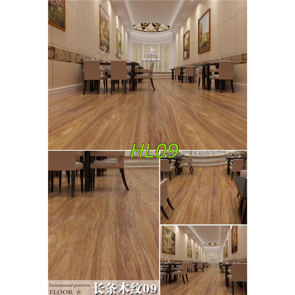 Vinyl Wood Flooring Laminate Sheets Glueless Self Adhesive Hl09 12