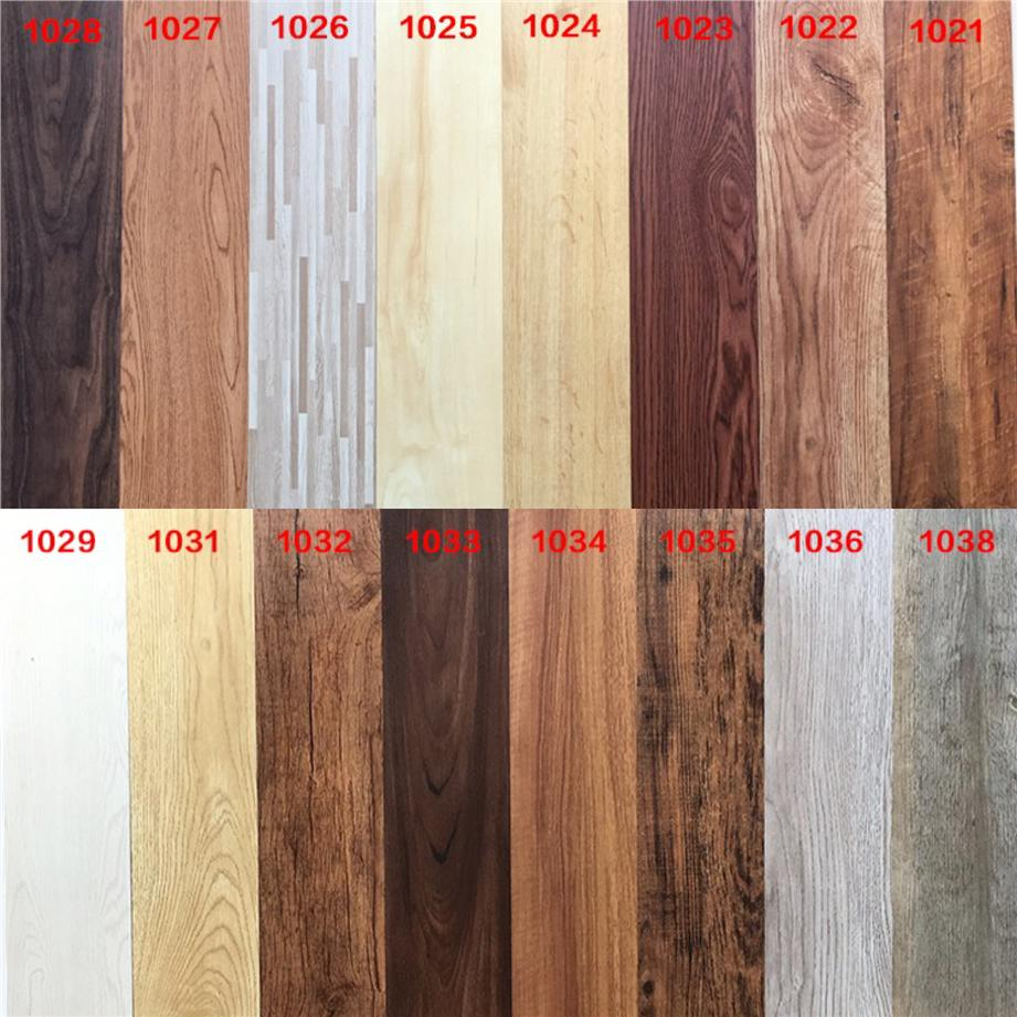 Vinyl Wood Flooring/ PVC Wood Tiles Self Adhesive Without Glue