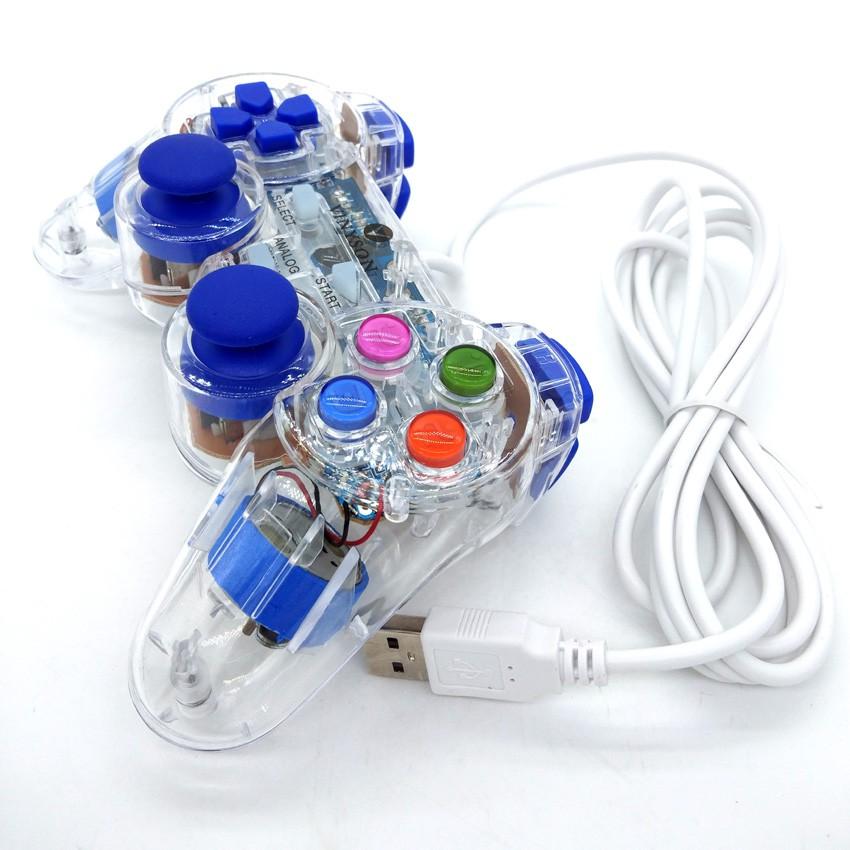 Vinyson V-706 Light Pc joystick handle doubles vibration game controller