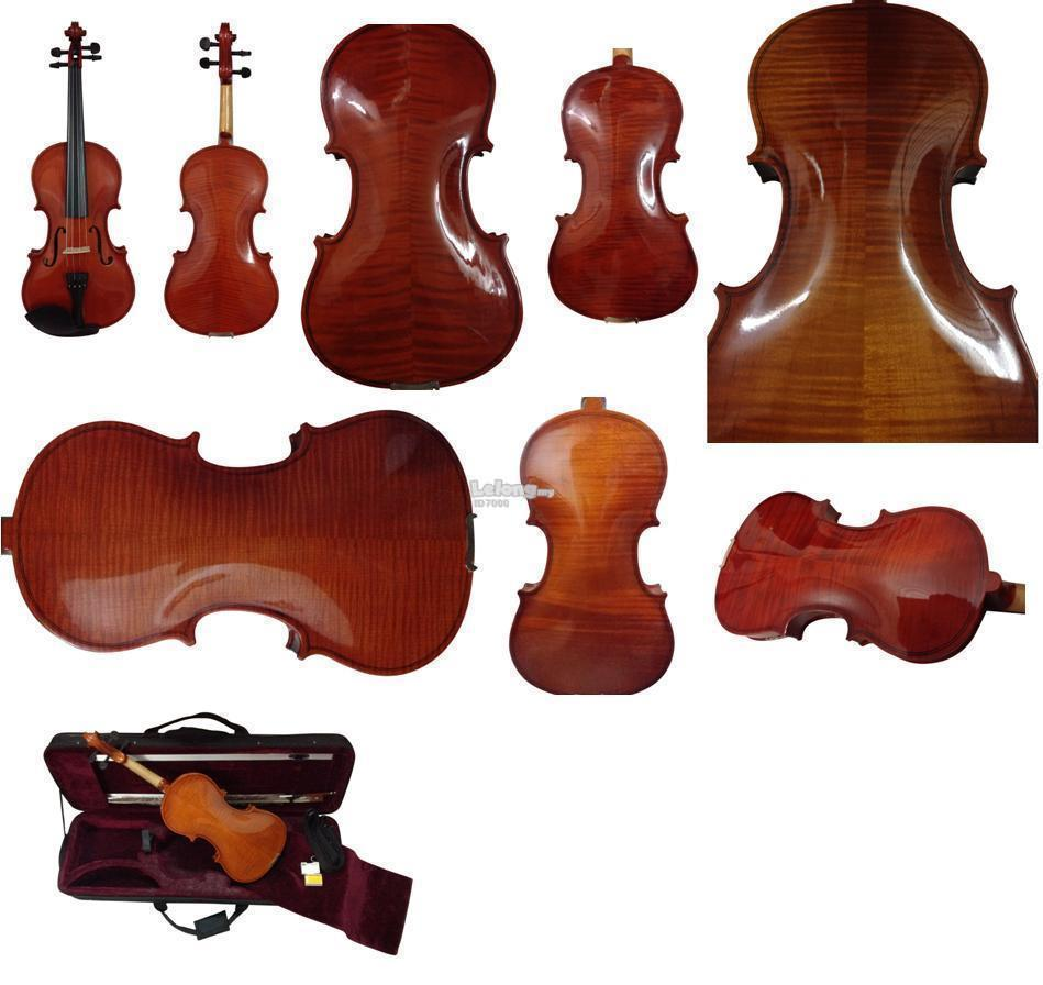 Violin Copy Stradivarius 300A Full Size (4/4 Size)-High Gloss Surface