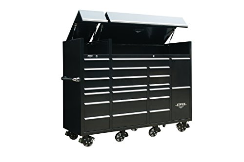 "Viper Tool Storage VXXL86UBBL 86 "" 22-Drawer Ultimate Tool Box with Pegbo"
