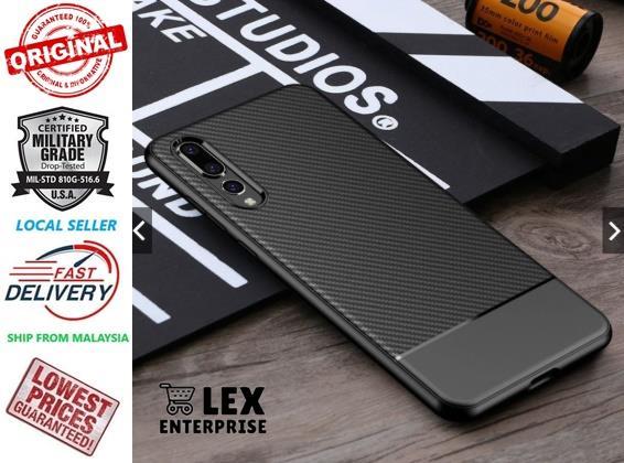hot sale online 3f57e bbd07 VISEAON HUAWEI P20 / P20 Pro Rugged Armor Super Slim Phone Case Cover