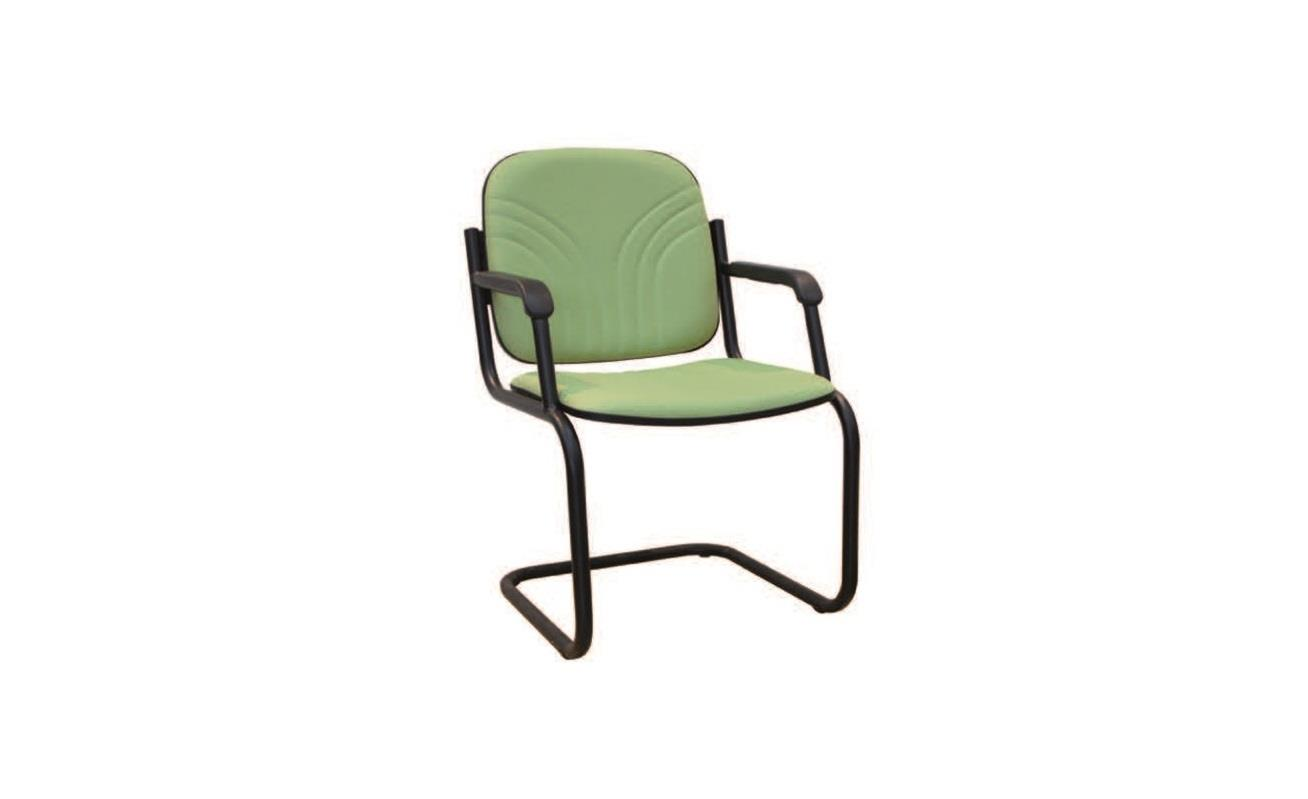 VISITOR CHAIR WITH ARMREST E1006S