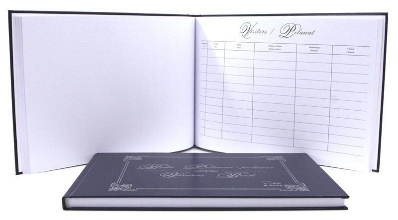 Visitors Book Buku Pelawat-pelawat Buku Signature Tanda Tangan