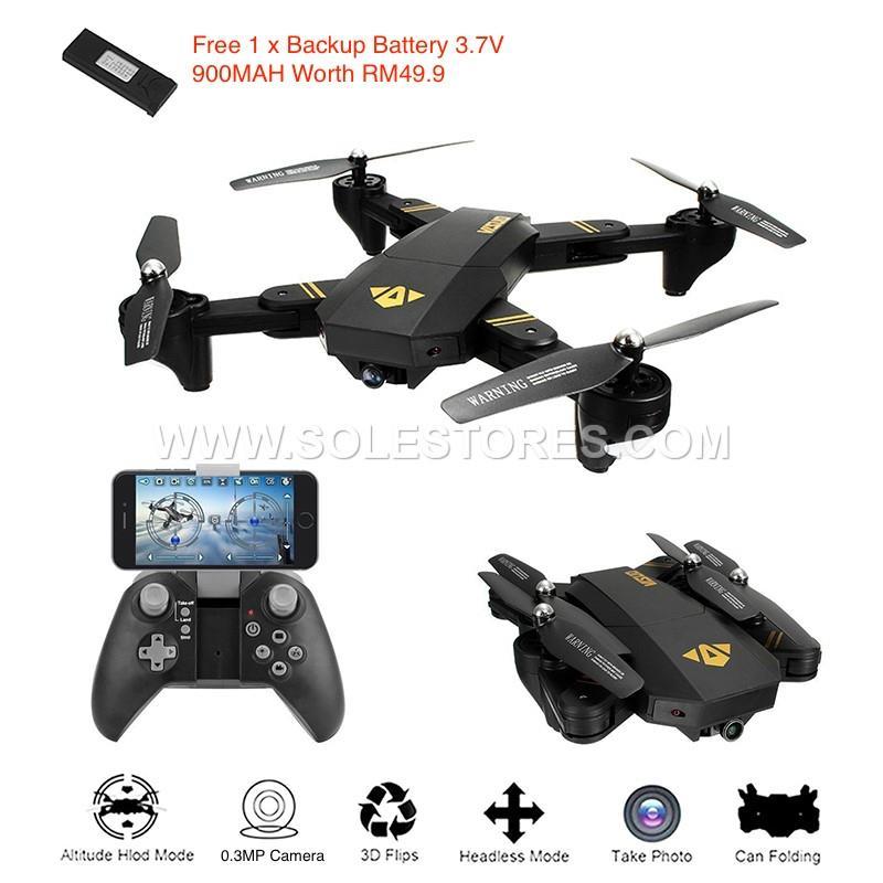 drone parrot tuk tuk