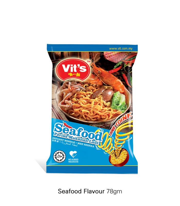 [Vit's Toink-Toink] Seafood Instant Noodles