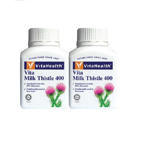 Vitahealth Vita Milk Thistle 400 (2 x 60's)