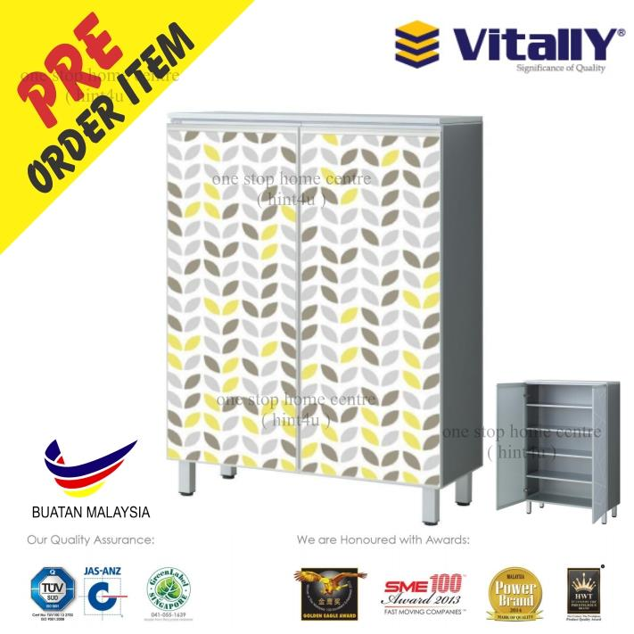 VITALLY FC1102A (SC 8853) ALUMINIUM SHOES CABINET 5 LAYER