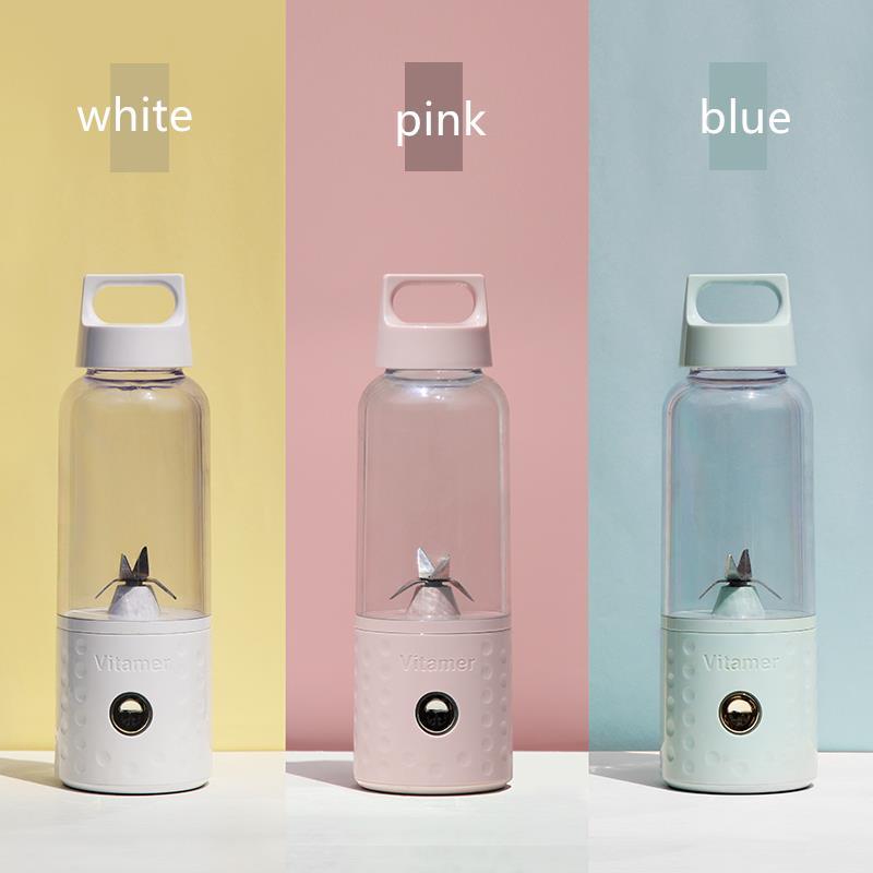 Vitamer Portable Rechargeable Blender Juicer Cup Bottle 500ml BPA Free