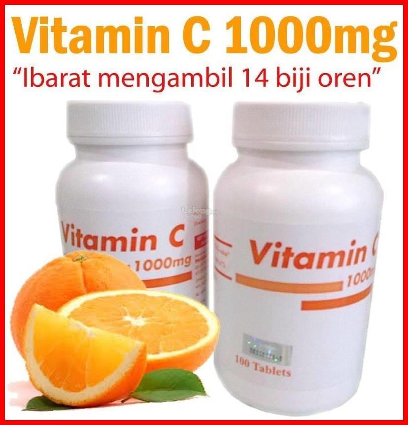 VITAMIN C PAHANG PHARMA 1000mg (100 tablets)