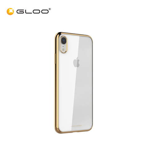 premium selection 1721d fcb4f Viva iPhone XS Max Back Case Glazo Flex Gold