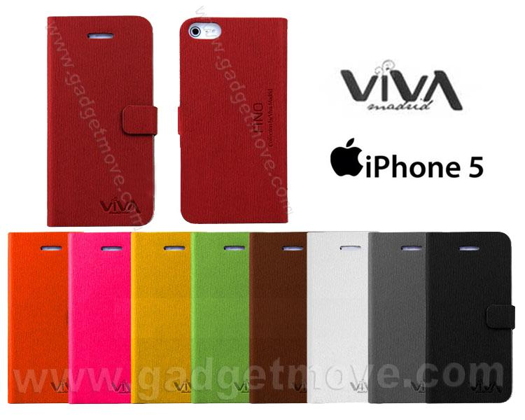 selezione migliore c7332 21b88 Viva Standable Apple iphone 5S 5S SE Leather Case Book Cover