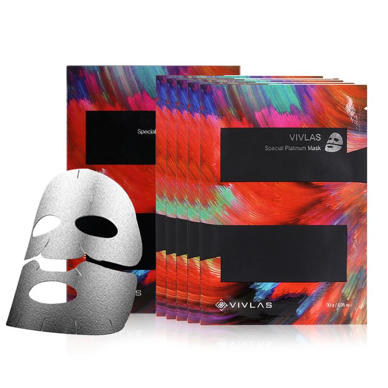 Image result for Vivlas Special Platinum Korean Face Sheet Mask, Pack of 5