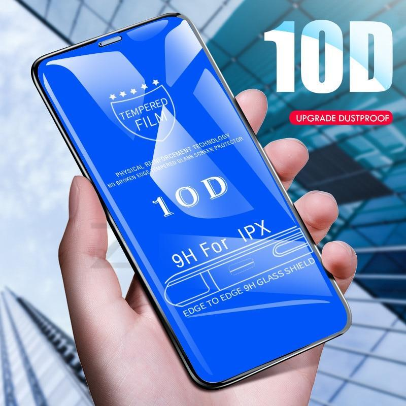 Vivo V15 Pro 10D Full Screen Coverage Tempered Glass