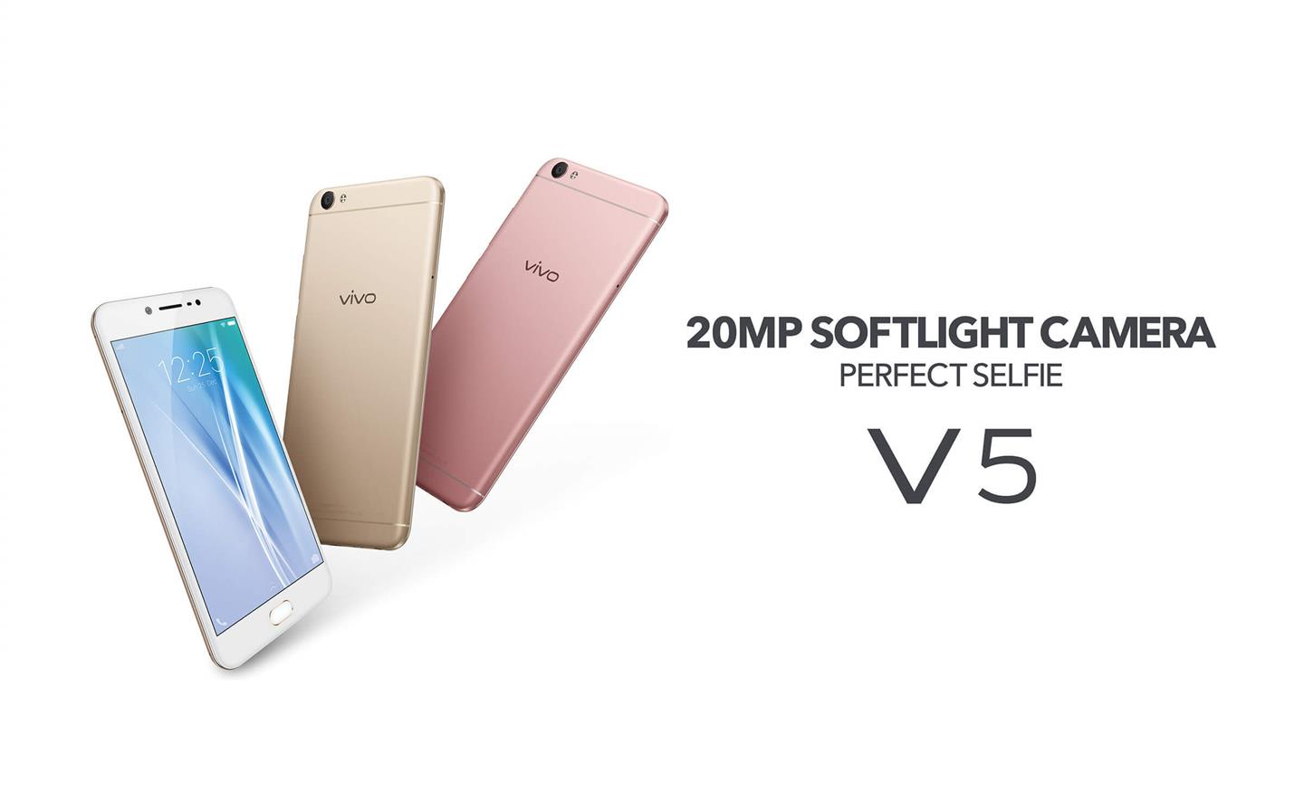 Vivo V5 [20MP softlight camera]32GB+4GB RAM - Original Malaysia Set