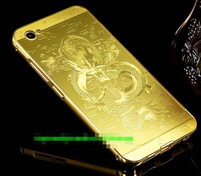 pretty nice c4b2a b28d8 ViVO V5 Plus V5Plus Dragon Design Metal Bumper Frame Case Cover Casing